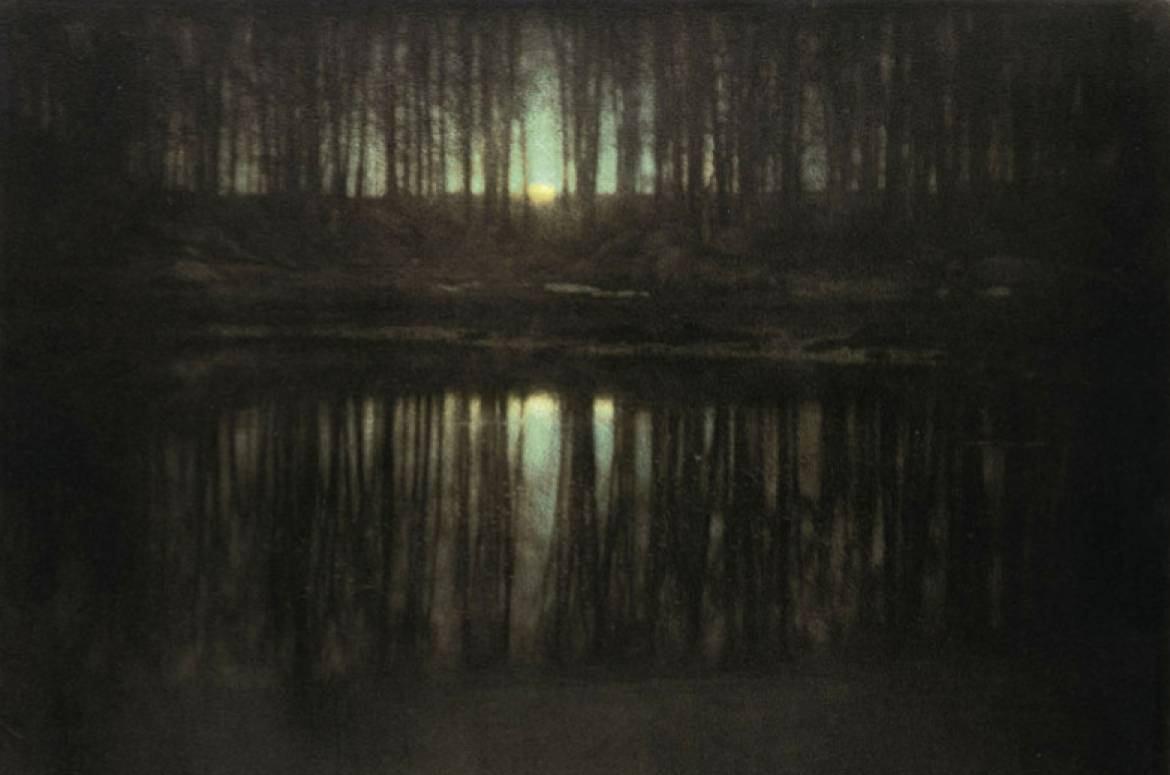 The Pond Moonlight by Edward Steichen